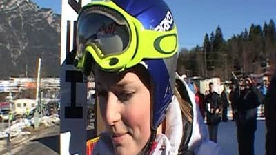 Lindsey at the WM in Garmisch