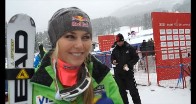 © ASP Red Bull - Lindsey in Lake Louise