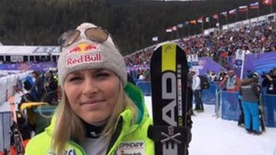 © ASP Red Bull - Lindsey placed 3rd at the Super-G in Bansko