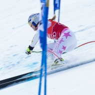 © ASP Red Bull - Lindsey tore down the Super-G course in St. Anton.