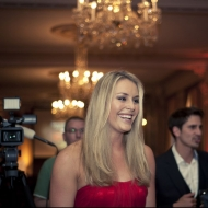 © Sarah Michel  - Lindsey Vonn receives the Herbert Preis award