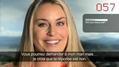 Lindsey Vonn takes on the 100-days-to-go challenge
