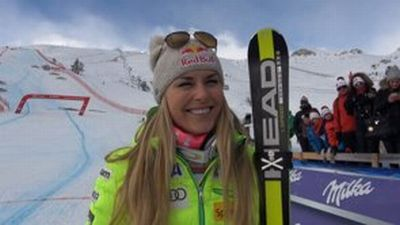 © ASP Red Bull - Lindsey wins SG in St. Moritz