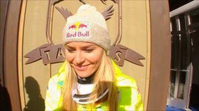 © ASP Red Bull - Lindsey wins Super-G Bronze!