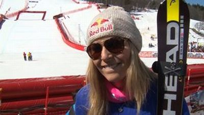 © ASP Red Bull - Lindsey wins Super-G title!